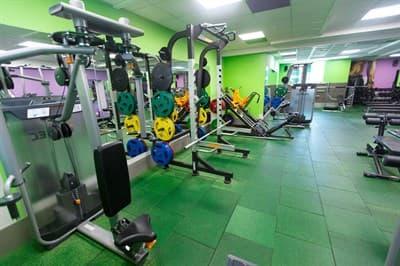 1 год фитнес-ланч с 12:00 до 17:00