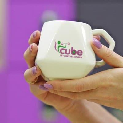 Чашка CUBE FITNESS